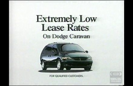 Dodge President's Week Celebration | Television Commercial | 1996 From New York City 10111 NY