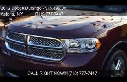 2012 Dodge Durango Citadel AWD 4dr SUV for sale in Astoria, Columbus Georgia 2018