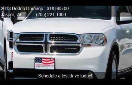 2013 Dodge Durango SXT AWD 4dr SUV for sale in Jasper, AL 35 Wichita Kansas 2018