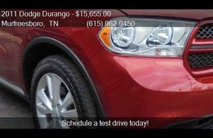 2011 Dodge Durango Crew Lux AWD 4dr SUV for sale in Murfrees Lancaster California 2018