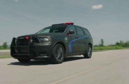 AUTONEW UPDATE-The new 2019 Dodge Durango Pursuit SUV Perfect Balance of Performance. Washington DC 2018