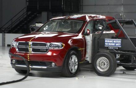 2011 Dodge Durango side crash test (extended footage) Scottsdale Arizona 2018
