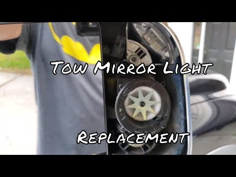 2017 Ram 1500 Tow Mirror Light Replacement How To Install Dodge Puddle Lights