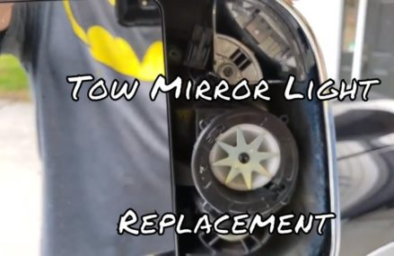 2014 Ram 1500 Tow Mirror Light Replacement | How to Install From 36279 Wellington AL