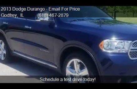 2013 Dodge Durango Citadel AWD 4dr SUV for sale in Godfrey, Chesapeake Virginia 2018