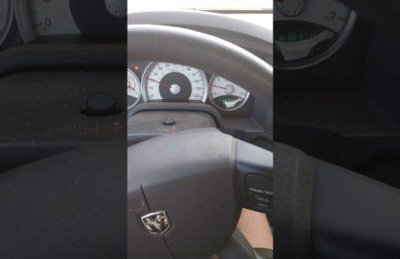Dodge Caliber Warning Lights at Goldsboro 79519 TX USA