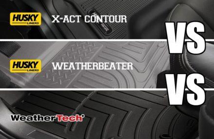 Comparing All-Weather Floor Liners: Weather Tech VS Husky Near 39367 Waynesboro MS