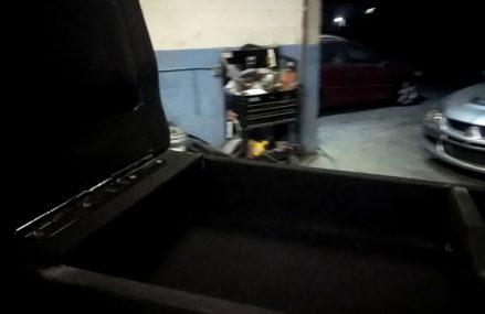Custom 12″ sub box Dodge ram Around Streets in 91793 West Covina CA