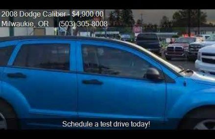 Dodge Caliber Sxt 2008 Near Westbrook 79565 TX USA