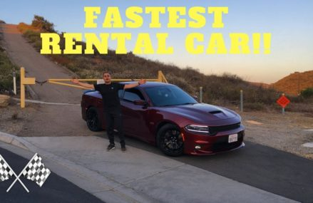 I RENTED A 485HP SCATPACK IN CALIFORNIA!! in 3216 Andover NH