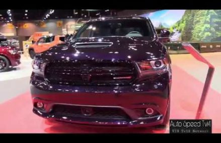 2018 Dodge Durango GT   Exterior and Interior Walkaround   2018 Chicago Auto Show Cleveland Ohio 2018