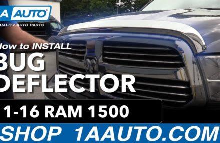 How to Install Bug Deflector 11-16 Ram 1500 Plano Texas 2018