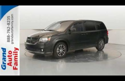 Used 2017 Dodge Grand Caravan Lowell MI Grand Rapids, MI #B2795 at New Eagle 15029 PA