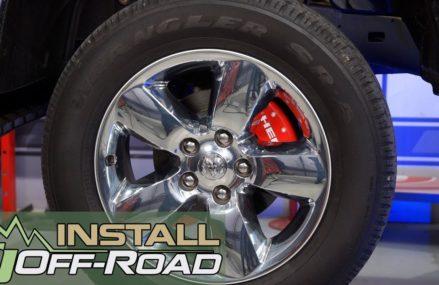 How to give a fresh look to the stock wheels: 2011-2018 Dodge Ram MGP Brake Caliper Covers Install Lexington-Fayette Kentucky 2018