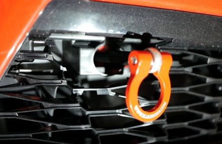ZL1 Addons Tow Hook and License Plate Holder Install Near 41712 Ary KY