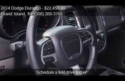 2014 Dodge Durango SXT AWD 4dr SUV for sale in Grand Island, Jacksonville Florida 2018