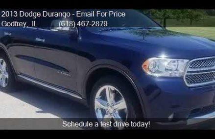 2013 Dodge Durango Citadel AWD 4dr SUV for sale in Godfrey, Mobile Alabama 2018