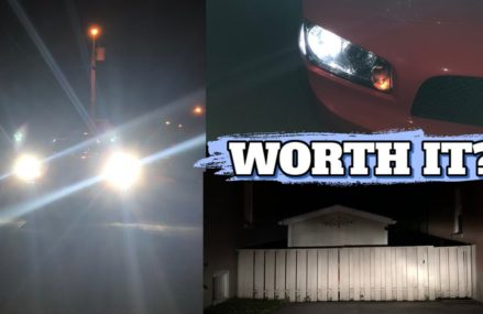 JDM Astar LED Headlight Review for Dodge Charger – LED vs. Stock – Worth It? in 62906 Anna IL