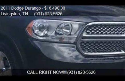 2011 Dodge Durango Citadel AWD 4dr SUV for sale in Livingsto Spokane Washington 2018