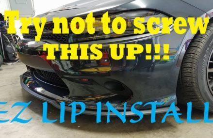 Universal EZ LIP Install Dodge Charger at 51003 Alton IA