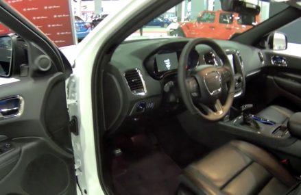 2019 Dodge Durango R/T Blacktop, Performance SUV, Walk Around & Interior, at Miami Beach Auto Show Yonkers New York 2018
