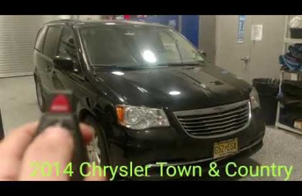 2014 Chrysler Town & Country Remote Start in New York City 10242 NY