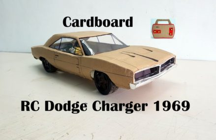 WOW! Super Dodge Charger 1969|| How to make old Dodge car with cardboard|| DIY|| Electric toy car Near 92804 Anaheim CA