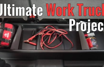 Ultimate Work Truck Project Part 4 – Underseat Storage From 58489 Venturia ND