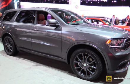2015 Dodge Durango R/T AWD – Exterior and Interior Walkaround – 2015 New York Auto Show Grand Rapids Michigan 2018