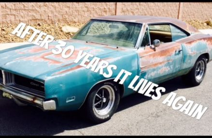 "Part 33 of ""Patina"" the ratty big block turquoise Dodge Charger ""it's alive"" Local Area 59713 Avon MT"