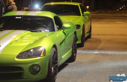 Dodge Viper Vs Hellcat at Auto Club Raceway at Pomona, Pomona, California 2018
