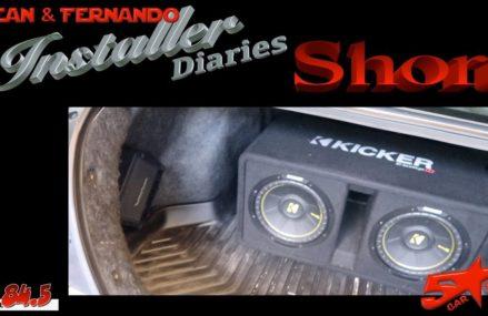 Dodge Caliber Trunk Cover at Honey Grove 75446 TX USA