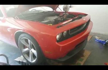 Replacing radiator in my 2010 Challenger SRT8 at Moreno Valley 92552 CA
