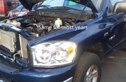 Dodge Ram Pick Up Truck Fuse Box Locations & OBD2 Scan Port Sacramento California 2018