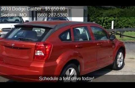 Dodge Caliber Gas Mileage at Bon Wier 75928 TX USA