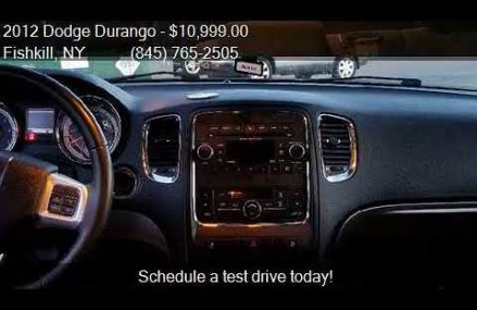 2012 Dodge Durango SXT AWD 4dr SUV for sale in Fishkill, NY Pomona California 2018