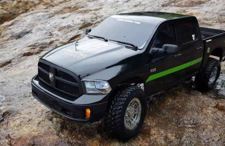 3D printed RC – Dodge ram crew cab Found at 63473 Williamstown MO