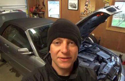BMW Alternator Replacement -Part1 From Morrisonville 12962 NY