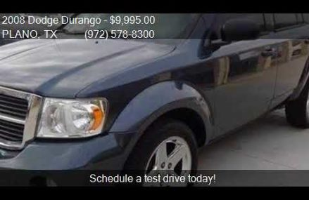 2008 Dodge Durango SLT 4dr SUV for sale in PLANO, TX 75075 a Huntsville Alabama 2018