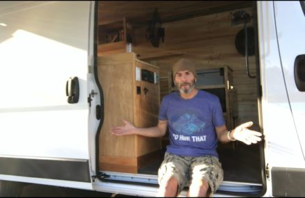 Final Walkthru of My Promaster Van Conversion Area Code 15486 Vanderbilt PA