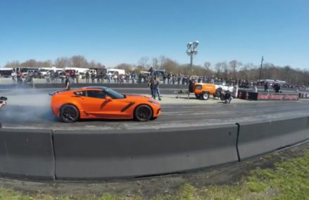 Dodge Viper Quarter Mile Time in Barberton Speedway, Barberton, Ohio 2018