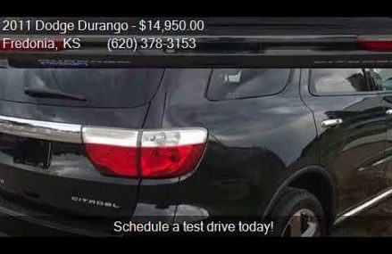 2011 Dodge Durango Citadel AWD 4dr SUV for sale in Fredonia, Ontario California 2018