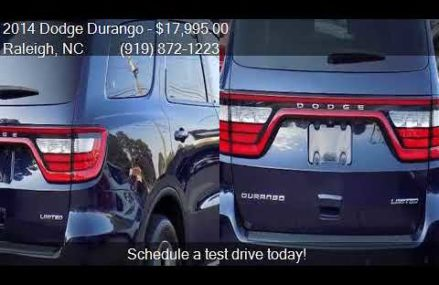 2014 Dodge Durango Limited 4dr SUV for sale in Raleigh, NC 2 Pembroke Pines Florida 2018