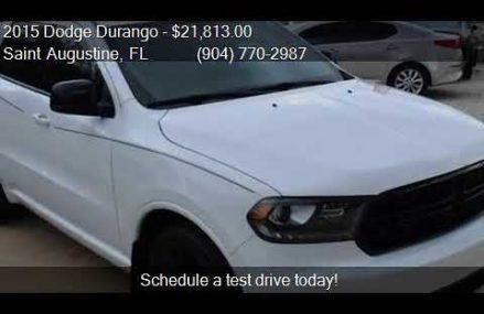 2015 Dodge Durango SXT 4dr SUV for sale in Saint Augustine, Tempe Arizona 2018