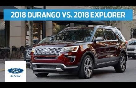 Compare 2018 Dodge Durango With 2018 Ford Explorer | Head to Head | Ford Wichita Kansas 2018
