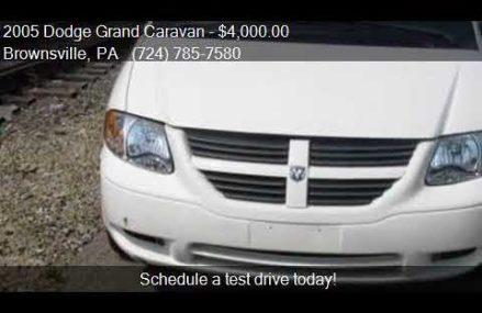 2005 Dodge Grand Caravan CV 4dr Extended Cargo Mini Van for Near Mc Lean 22106 VA