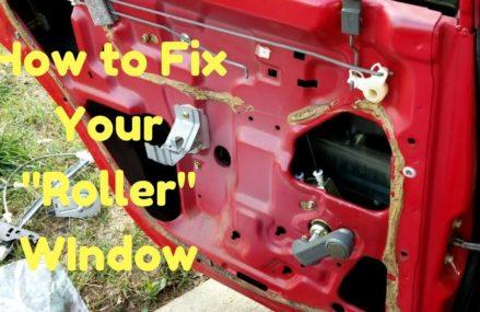 "Fix Your Manual Window Regulator | ""Rolly"" Hand Crank Fix | 92-00 Honda/Acura From Menlo Park 94026 CA"