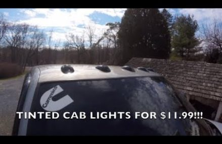 How to tint your cab lights!!! Only $11.99!!!! From 93670 Yettem CA