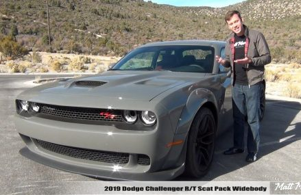 Review: 2019 Dodge Challenger Scat Pack Widebody (Manual) at Marietta 13110 NY