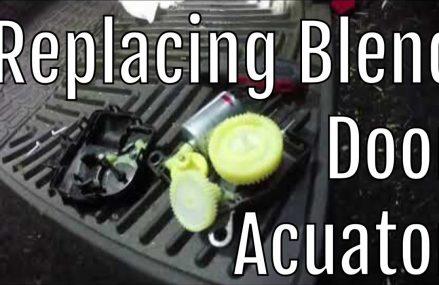 2009 Dodge Ram SLT: Blend Door Acuator Replacement in Nashville 37203 TN